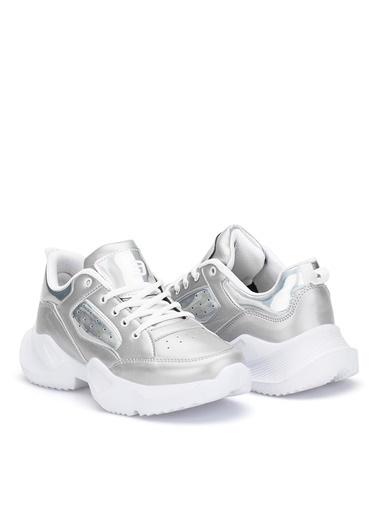 Dark Seer Ds.Mj1880 Sneaker 2021 Kadın Gümüş